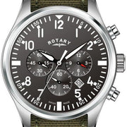 Rotary Watch Gents Strap D GS02680/19
