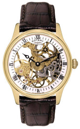 Rotary Watch Gents Gold Plated GS02520/03
