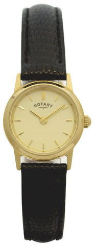Rotary Watch Ladies Gold