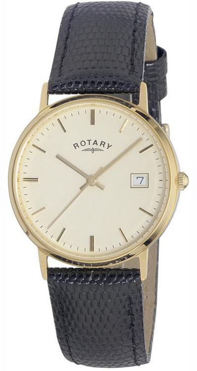 Rotary Watch Gents 18ct Gold S GS11876/0