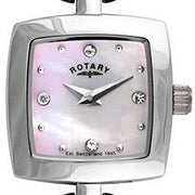 Rotary Watch Ladies White S LB02639/07