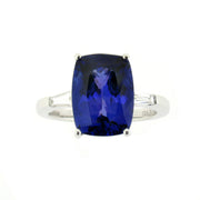 Tanzanite Collection Ring Diamond And White Gold RW-0923-TZ