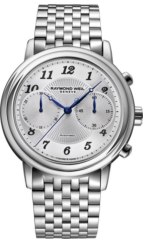 Raymond Weil Watch Maestro Mens 4830-ST-05659