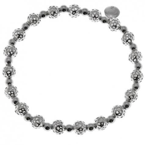 Rachel Galley Sterling Silver Lattice Mini Globe Bracelet D