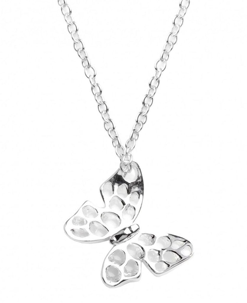 Rachel Galley Sterling Silver Small Flutterby Pendant