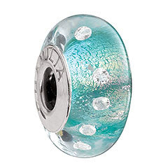 Chamilia Charm Radiance Iridescent Teal Shimmer