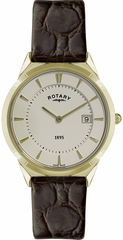 Rotary Watch Gold Plate Mens