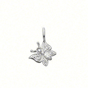 Thomas Sabo Pendant Silver & Diamond Butterfly D