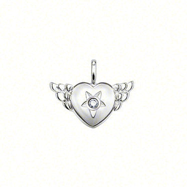 Thomas Sabo Pendant Silver Sweet Diamonds Winged Heart D