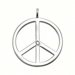 Thomas Sabo Pendant Silver Sweet Diamonds Peace Sign D
