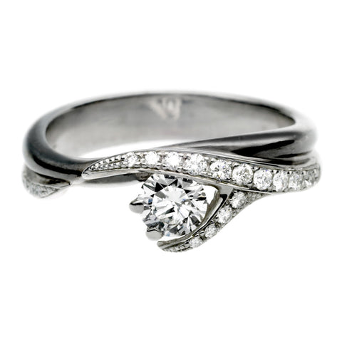 Shaun Leane Ring Vine Engagement 18ct White gold