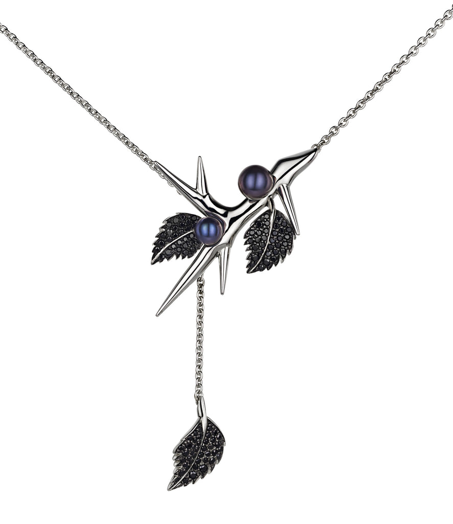 Shaun Leane Pendant Lariat with Silver Chain