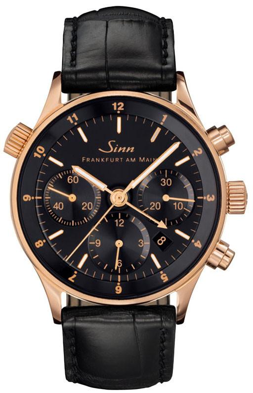 Sinn Watch 6000 Finance Center Rose Gold Leather 6000.040 LEATHER