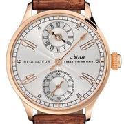 Sinn Watch 6100 Rose Gold Alligator Limited Edition 6100.021 LEATHER