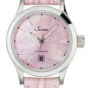 Sinn Ladies Watches 456 R St Perlmutt Alligator D 456.017 LEATHER