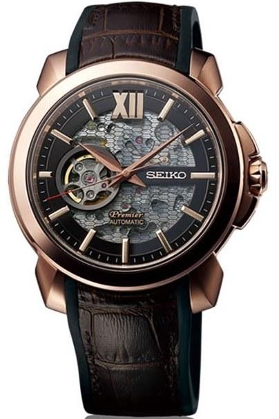 Seiko Watch Premier Novak Djokovic Automatic Limited Edition SSA374J1