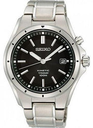 Seiko Watch Kinetic Titanium