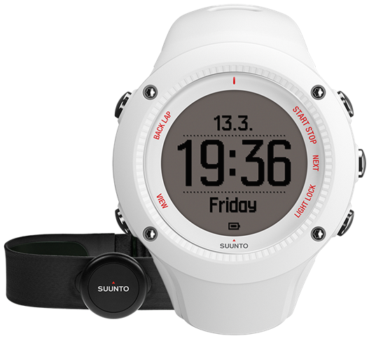 Suunto Watch Ambit3 Run White HR SS021259000