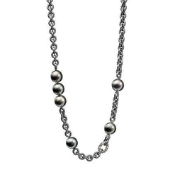 Schoeffel Catwalk Sterling Silver Diamond Pearl Necklace