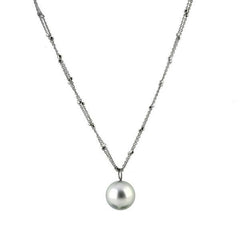 Schoeffel Catwalk Sterling Silver Pearl Necklace