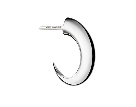 Shaun Leane Sabre Single Sterling Silver Medium Cat Claw Hoop Earring, SA030.SSNAEOS.