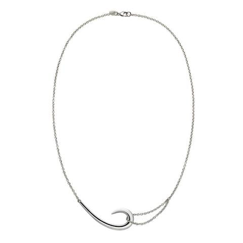 Shaun Leane Sabre Sterling Silver Hook Necklace, SA017.SSNANOS.