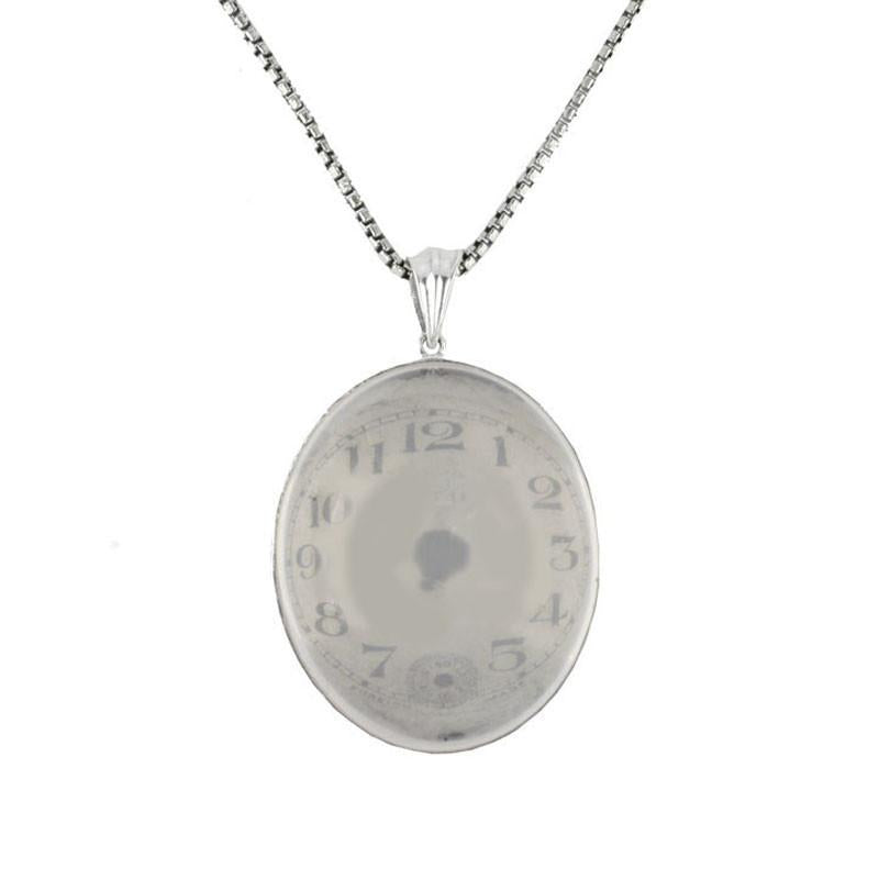 by art deviantart clock iimadrbx on necklace