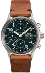 Sinn Watch 358 Sa Pilot Vintage Cowhide Brown