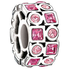 Chamilia Charm Stepping Stones Rose 2025-0841