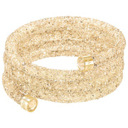 Swarovski Crystaldust Golden Crystal Wide Bangle 5277587