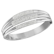 Swarovski Cypress White Crystal Bangle D 5124128