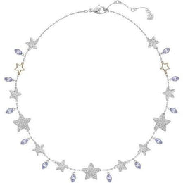 Swarovski Duo Rose Gold And Crystal All-Around Star Necklace D 5179185