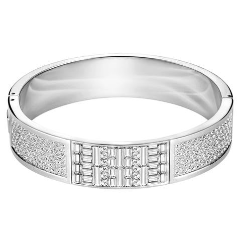 Swarovski Ethnic Clear Crystal Wide Bangle D 5202317