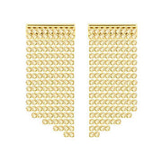 Swarovski Fit Yellow Gold Earrings 5360978