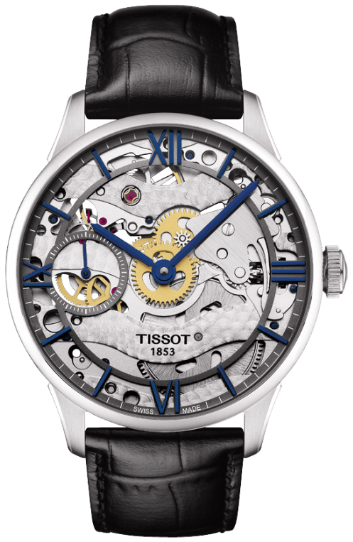 Tissot Watch Chemin des Tourelles Skeleton T0994051641800