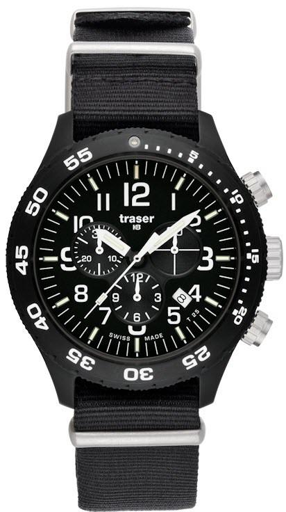 Traser H3 Watch Officer Chronograph Pro Nato