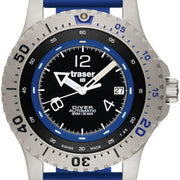 Traser H3 Diver Automatic Blue Silicon Diver Automatic Blue Silicon