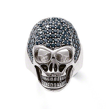 Thomas Sabo Ring Rebel At Heart Silver Skull