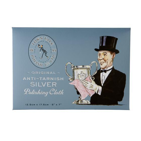 Silver Polishing Cloth Free gift