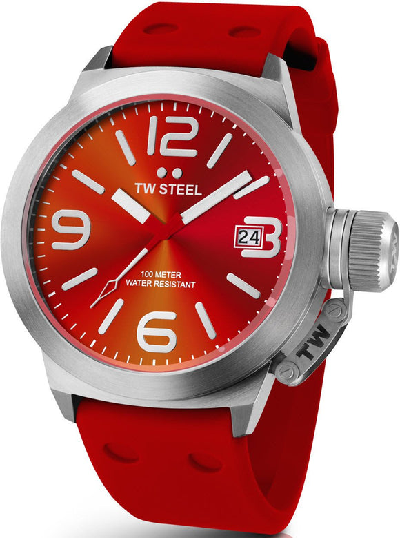 TW Steel Watch Canteen Red TW510