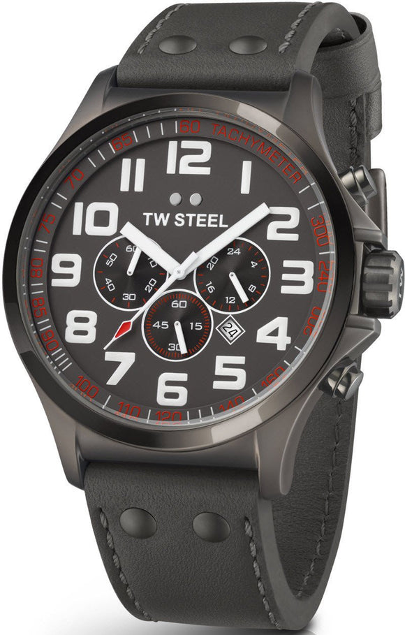TW Steel Watch Pilot Titanium Chronograph 45mm TW422