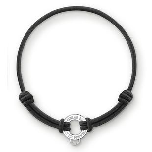 Thomas Sabo Charm Club Black Bracelet D