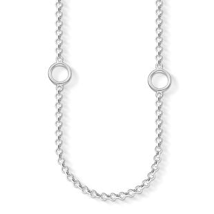 Thomas Sabo Charm Club Sterling Silver Necklace D
