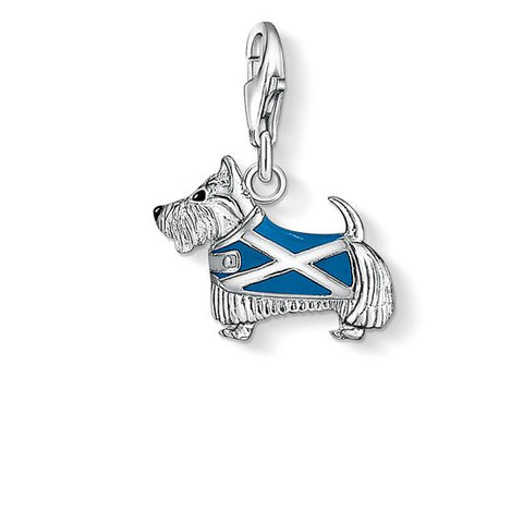 Thomas Sabo Charm Club Sterling Silver Scottish Dog Charm