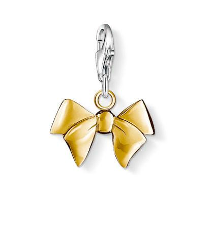 Thomas Sabo Charm Club Yellow Gold Bow Charm D