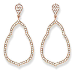 Thomas Sabo Glam And Soul Rose Gold Fatimas Earrings D