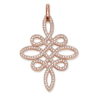 Thomas Sabo Glam And Soul Rose Gold Love Knot Pendant