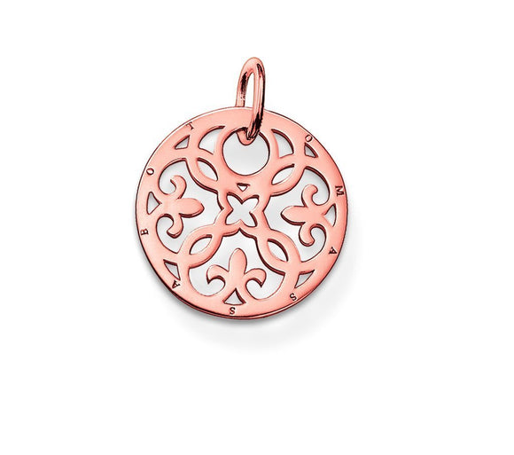 Thomas Sabo Glam And Soul Rose Gold Ornament Pendant PE430-415-12