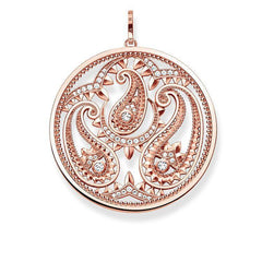Thomas Sabo Glam And Soul Rose Gold White Zirconia Pendant D