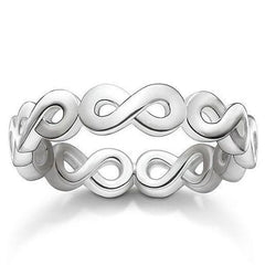 Thomas Sabo Glam And Soul Sterling Silver Infinity Ring